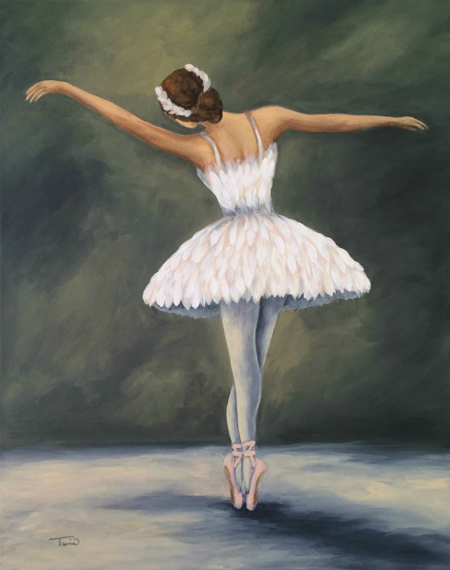 """""""The Ballerina V"""" original fine art by Torrie Smiley"""