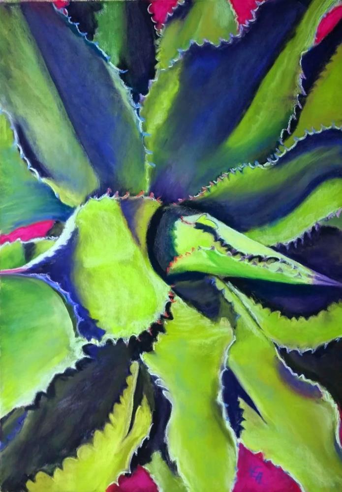 """Lightwaves"" original fine art by Anna Lisa Leal"