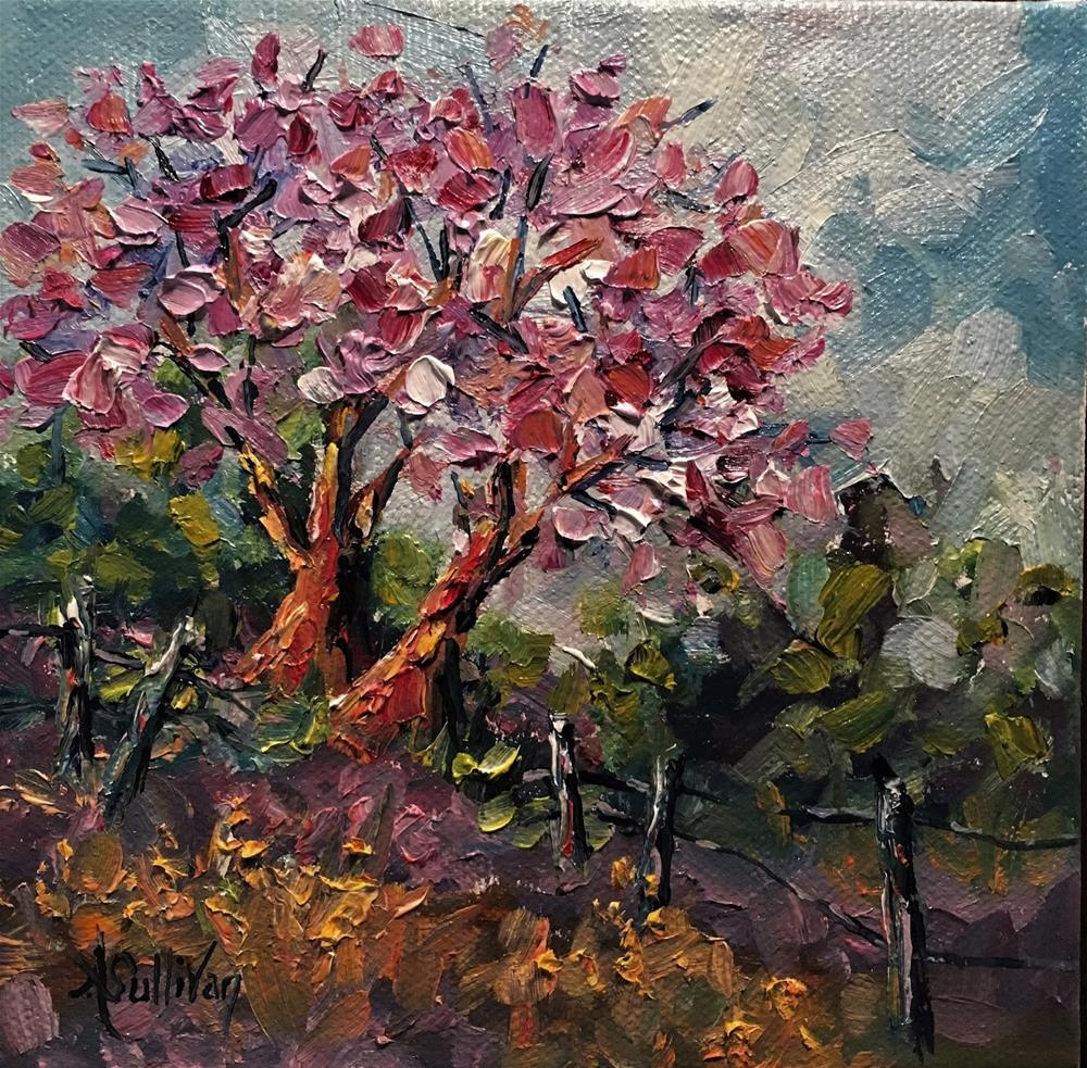 """The Other Tree landscape painting by Alabama Artist Angela Sullivan"" original fine art by Angela Sullivan"
