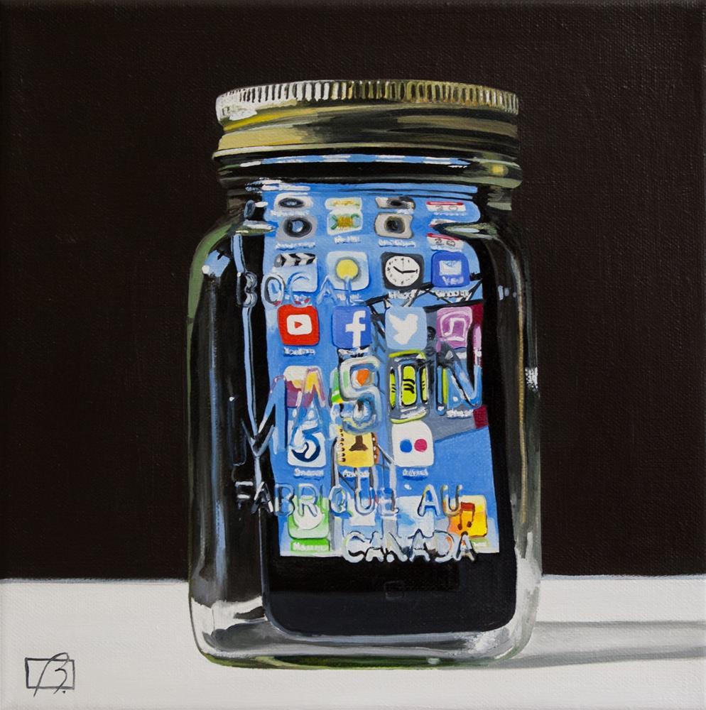 """Apple Preserves II"" original fine art by Andre Beaulieu"