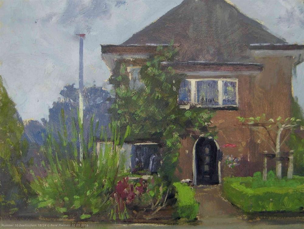 """Little afternoon sketch"" original fine art by René PleinAir"