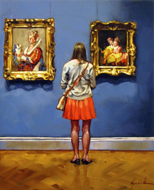 """""""Standstill"""" original fine art by Karin Jurick"""