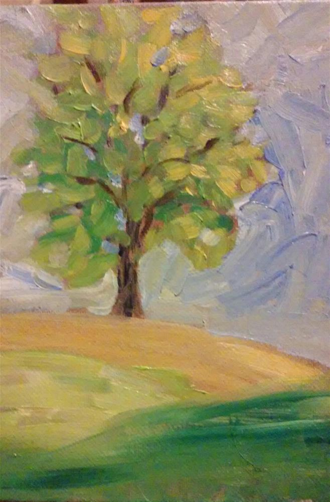 """This Tree"" original fine art by Gerri Obrecht"