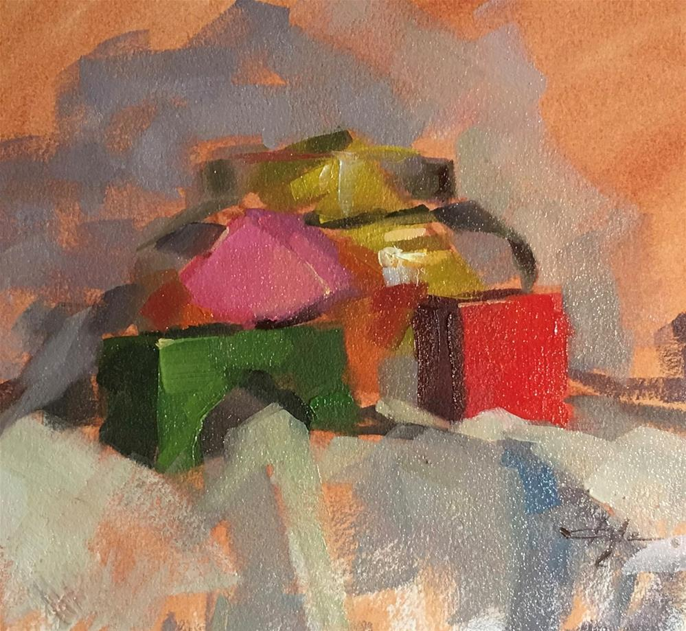 """""""30 days of painting Day 3"""" original fine art by Katia Kyte"""