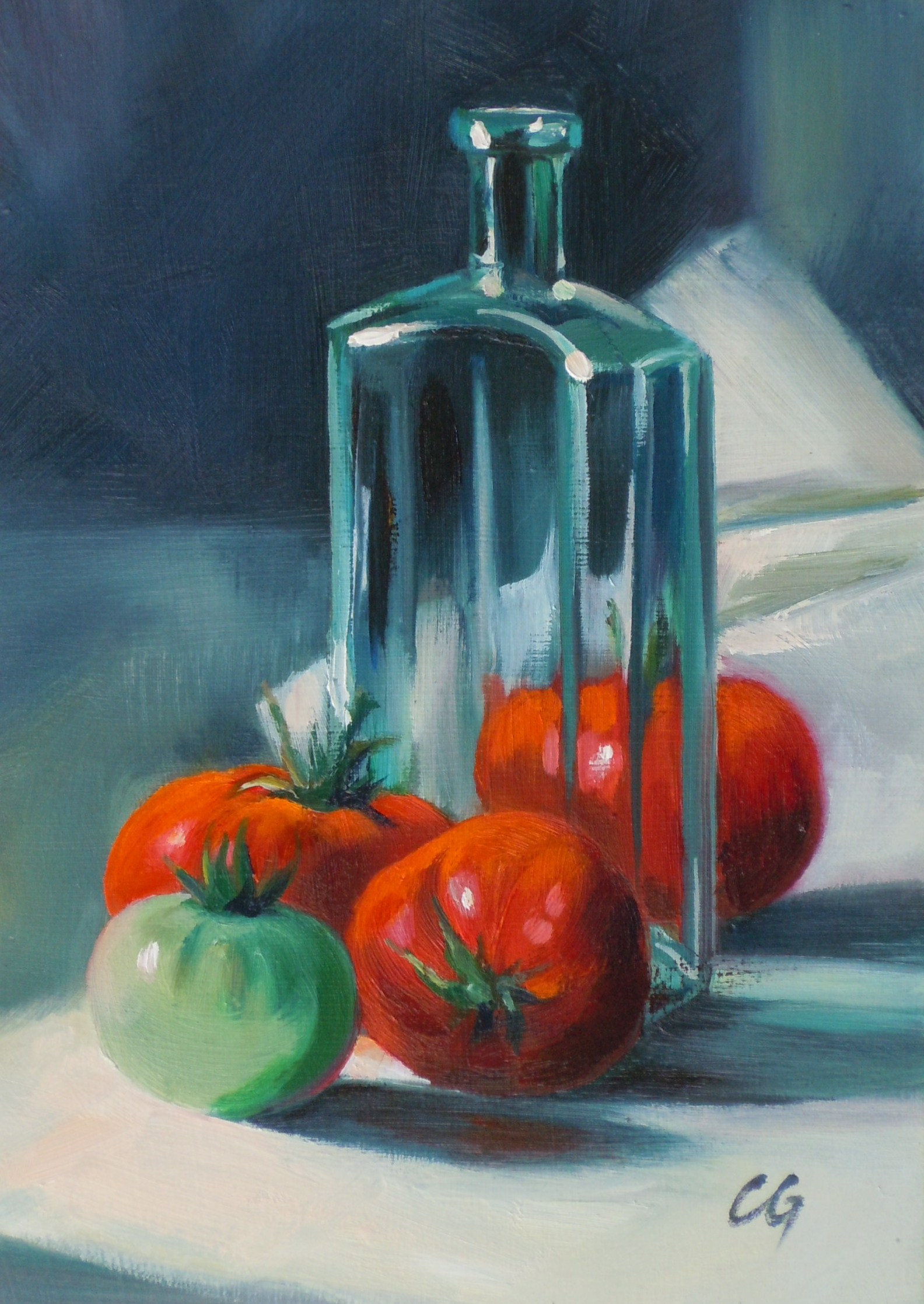 """untitled"" original fine art by Carla Gauthier"