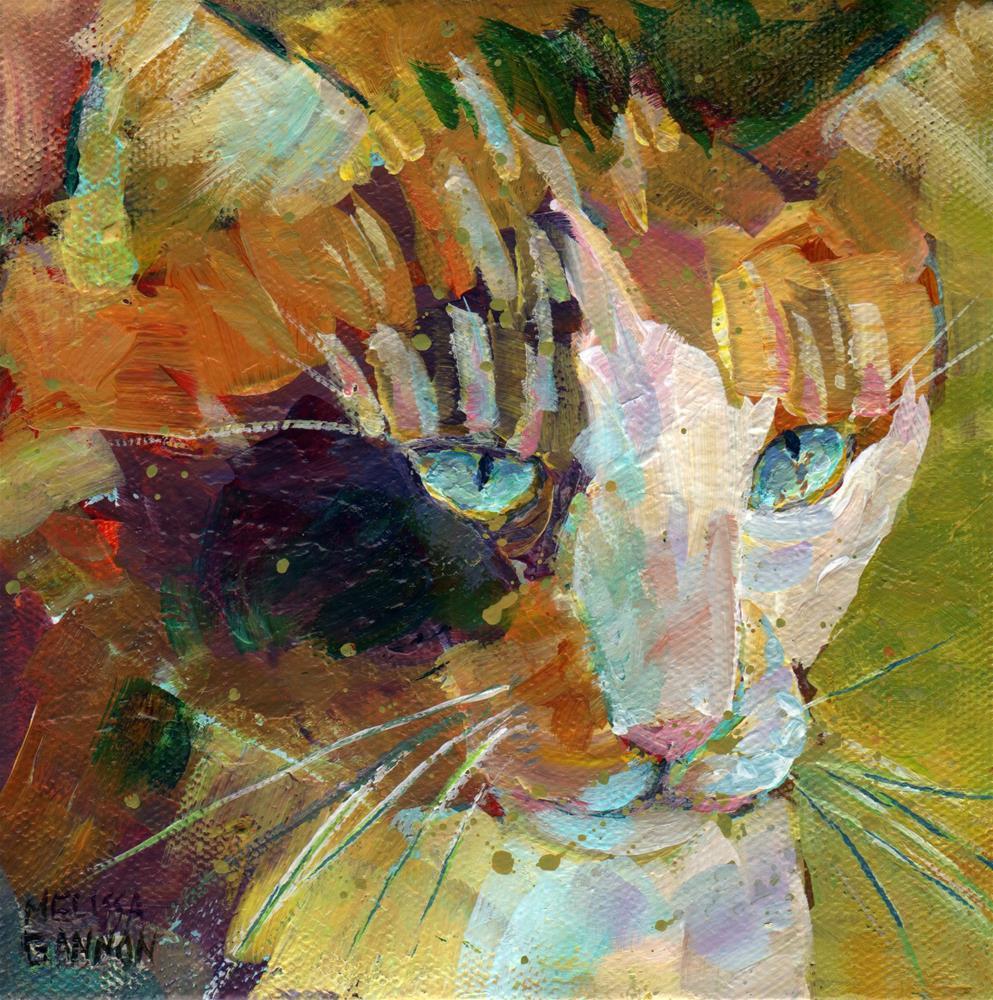 """Day Dreaming"" original fine art by Melissa Gannon"