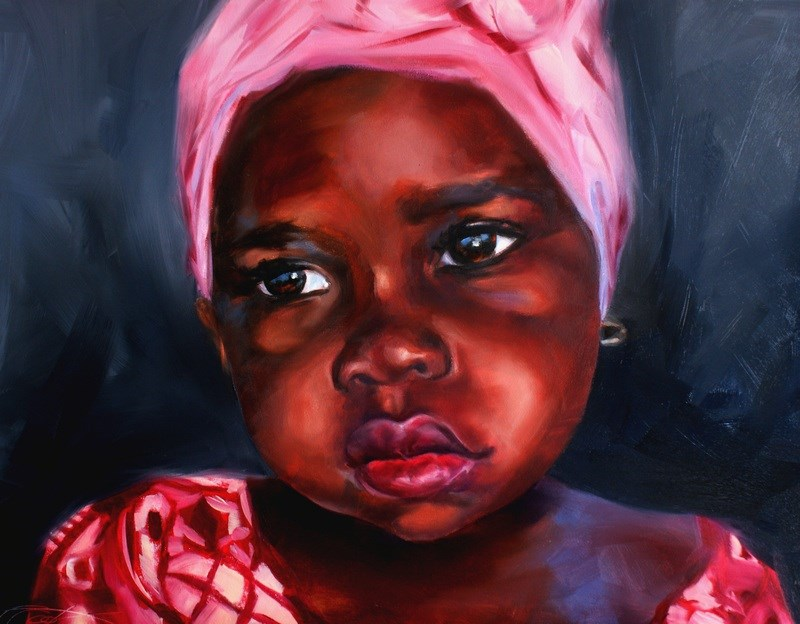 """Edith"" original fine art by Crystal Cook"