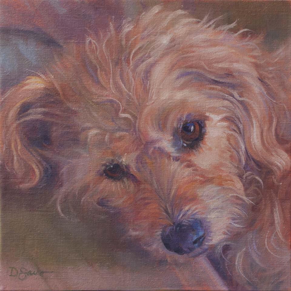 """Quinn"" original fine art by Deborah Savo"