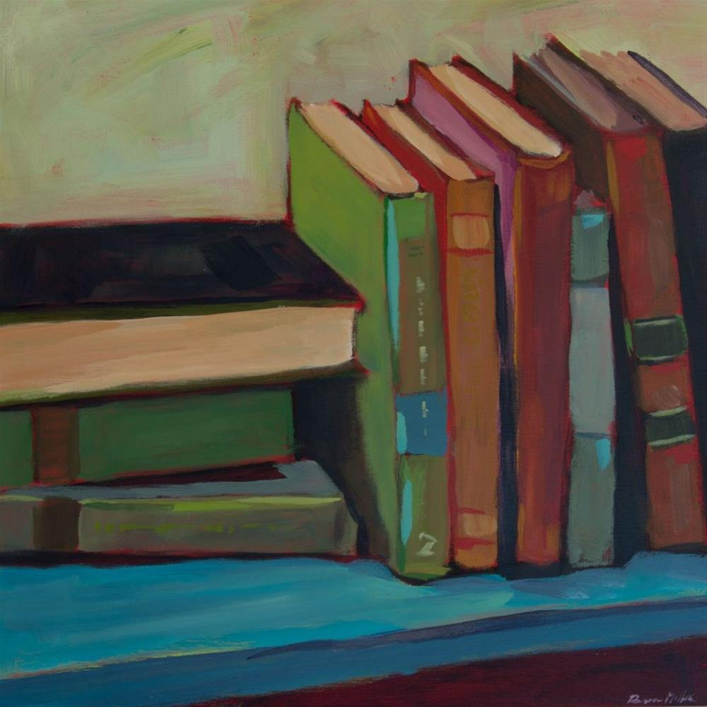 """0378: What's On Your Shelf?"" original fine art by Brian Miller"