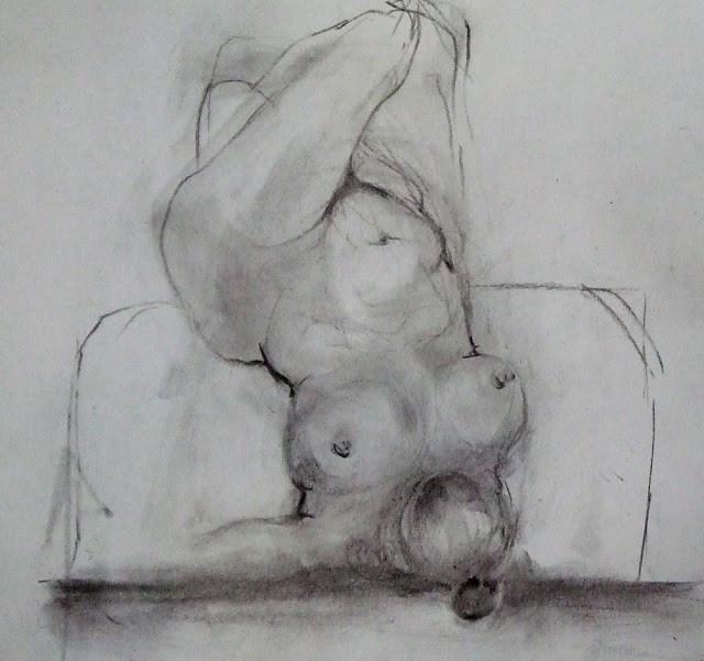 """""""30Jun015"""" original fine art by Mitsuru Cope"""