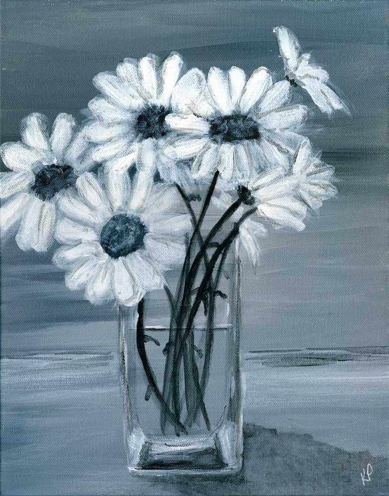 """Daisies 3"" original fine art by Kali Parsons"