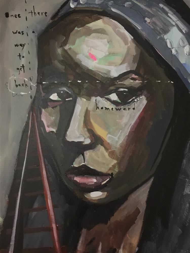 """614 Cora"" original fine art by Jenny Doh"