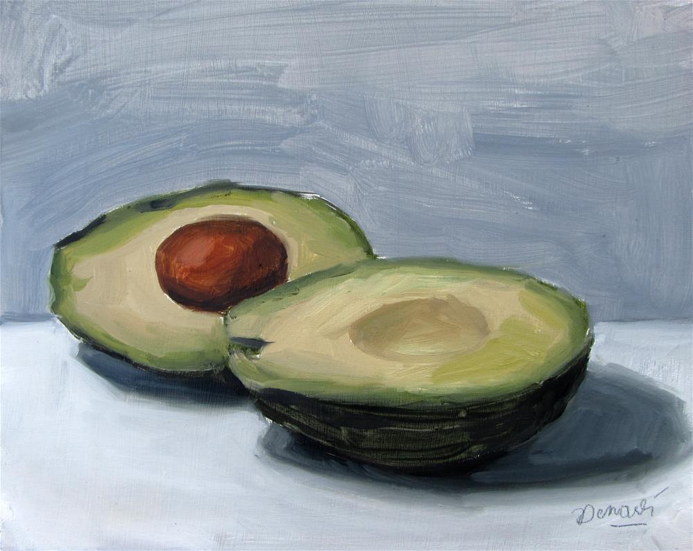 """""""Avacados"""" original fine art by D.C. Morale"""