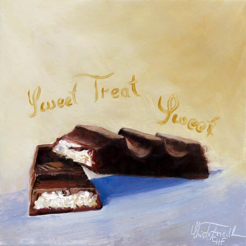 """Sweet Treat"" original fine art by Christa Friedl"