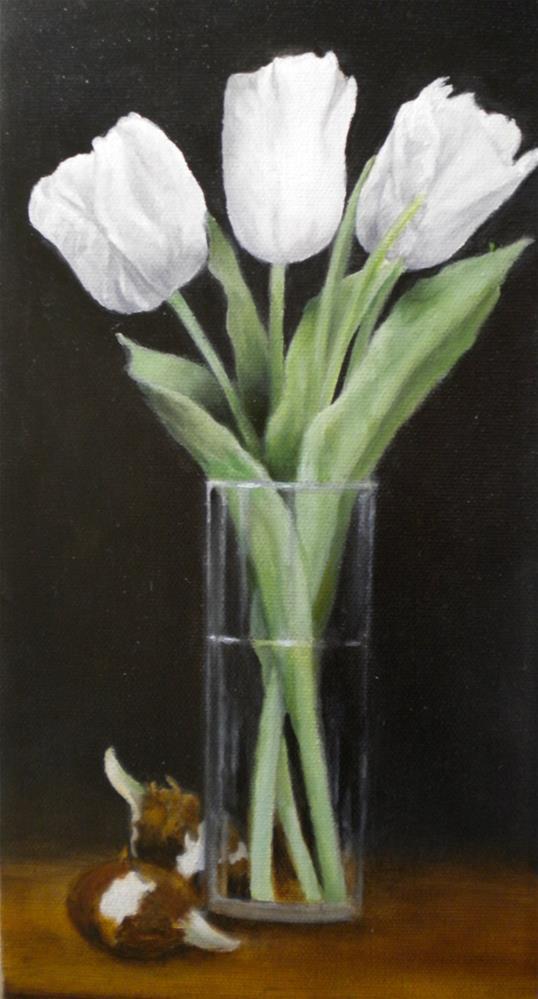 """""""Forgotten Bulbs"""" original fine art by Hilarie Johnson"""