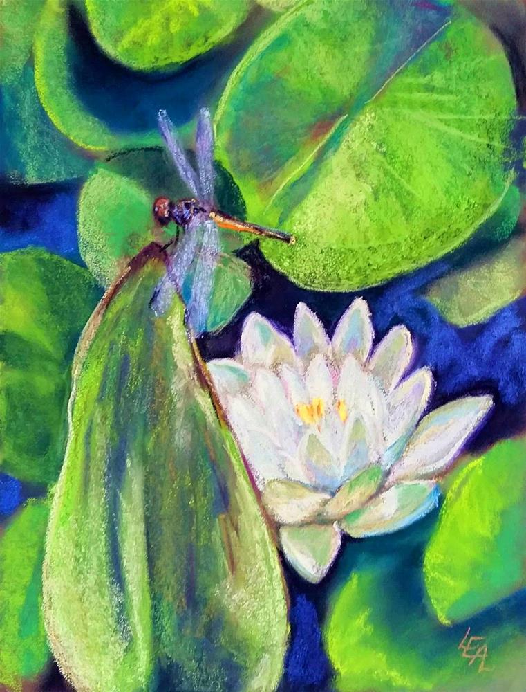 """Poised"" original fine art by Anna Lisa Leal"