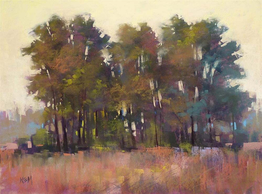 """""""Finish a Painting with Care with this Quick Idea"""" original fine art by Karen Margulis"""