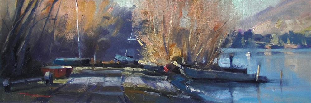 """Waiting for Summer"" original fine art by Richard Robinson"