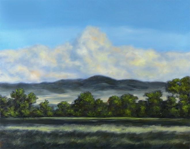 """Evening Treat"" original fine art by Carol Zirkle"