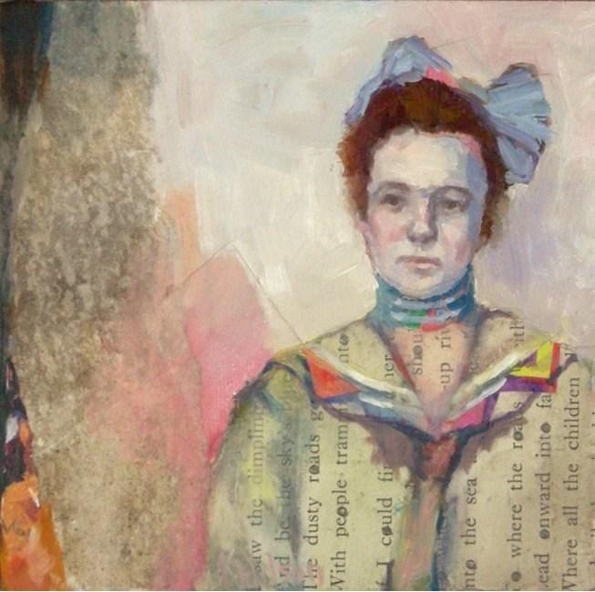 """""""Monarch or Mariner"""" original fine art by Katie Wilson"""