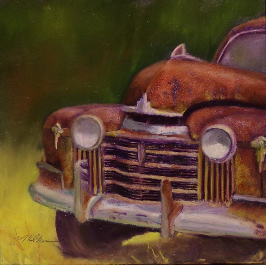 """Old Rusty"" original fine art by Marilyn R. Place"