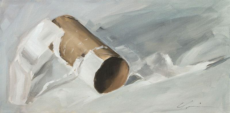 """Let em' Roll"" original fine art by Clair Hartmann"