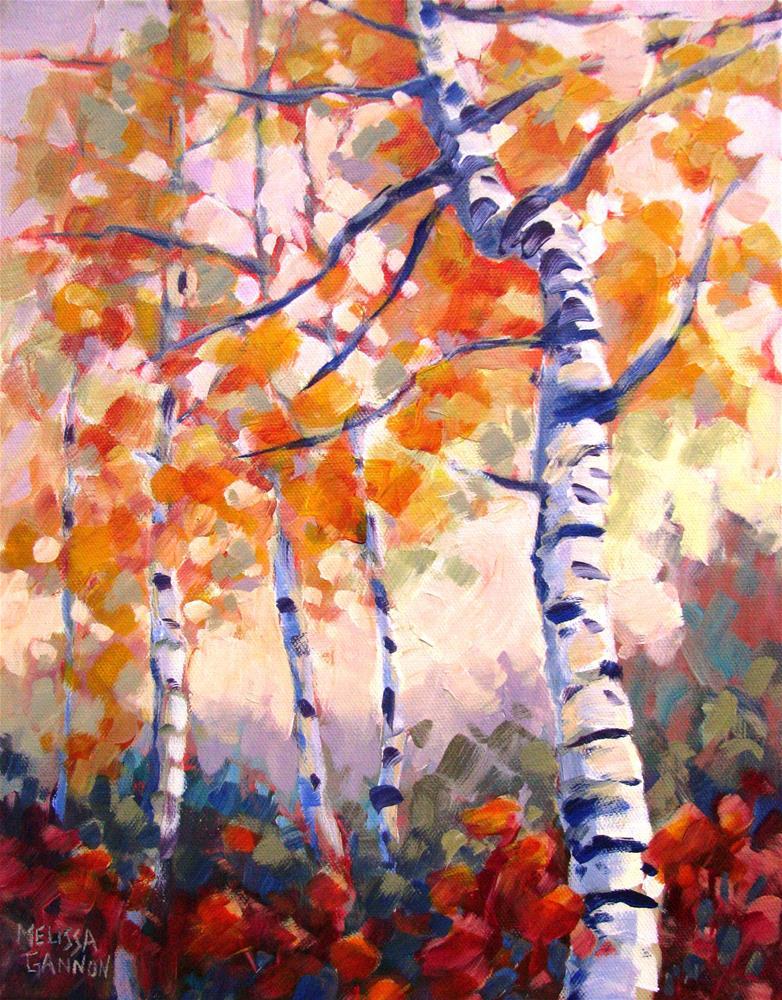 """Sky Reach"" original fine art by Melissa Gannon"
