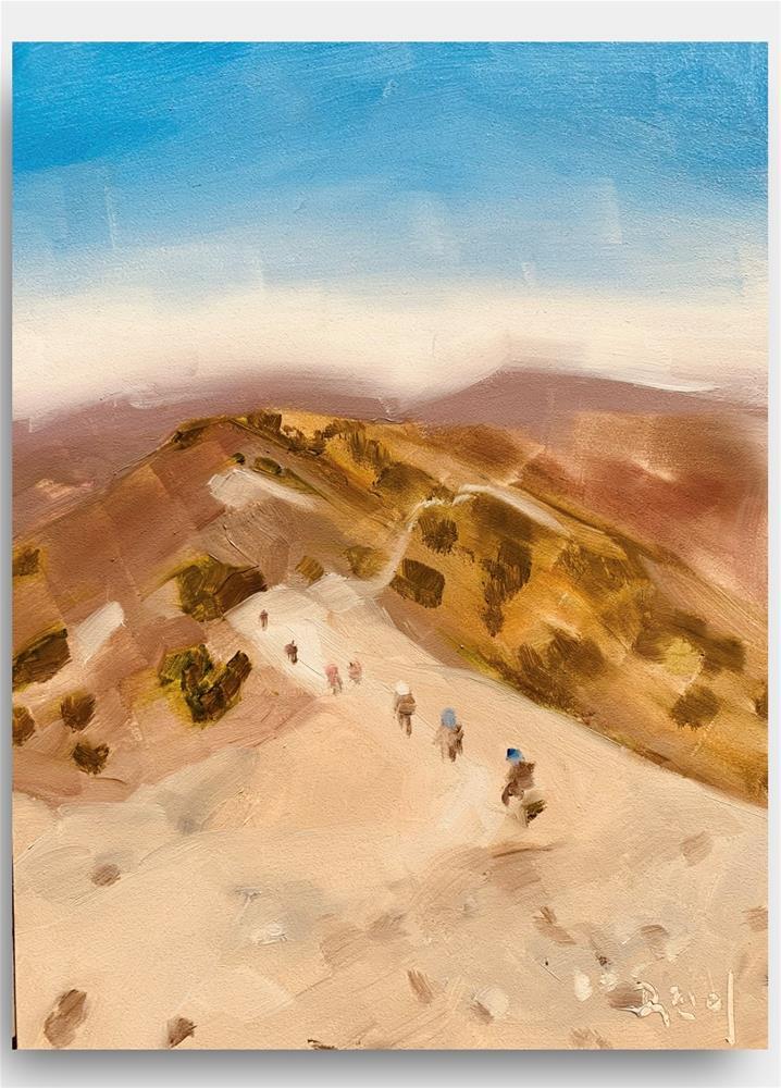 """""""850 Mount Baldy"""" original fine art by Jenny Doh"""