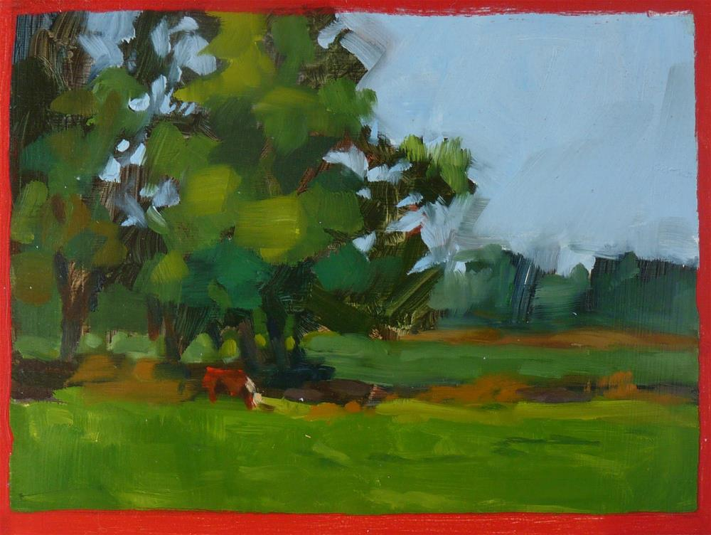 """""""Singled Out"""" original fine art by Sharman Owings"""