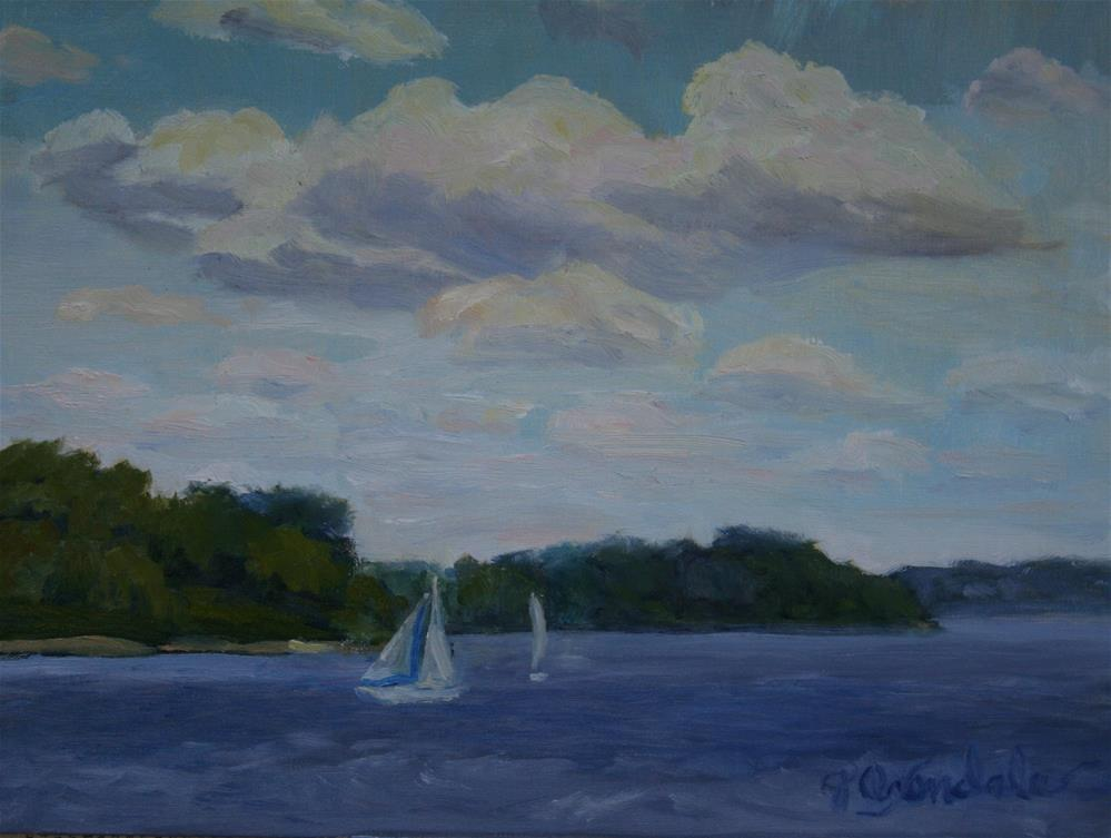 """Perfect Breeze"" original fine art by Jan Oxendale"