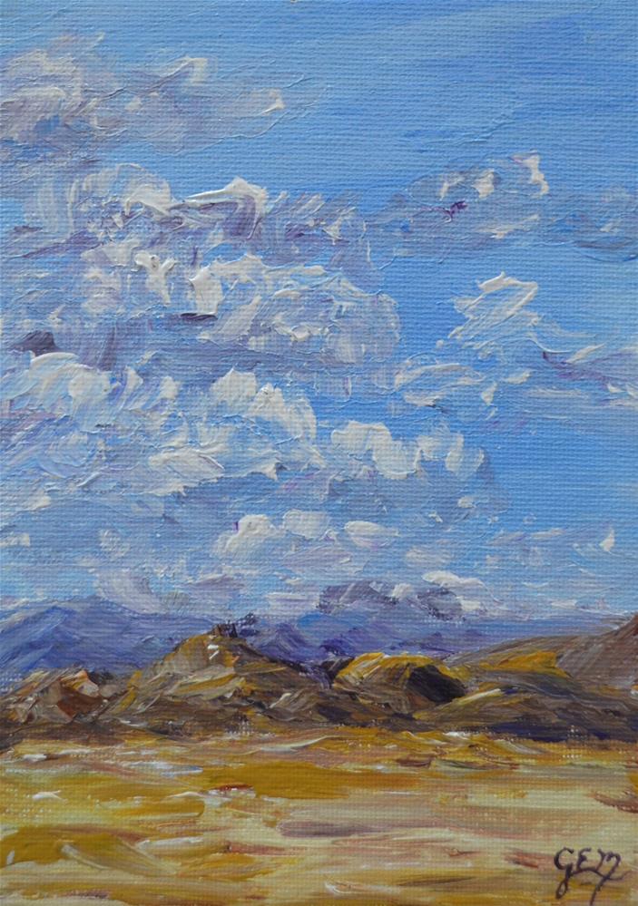 """SALE!!! Plains Of Utah"" original fine art by Gloria Ester"