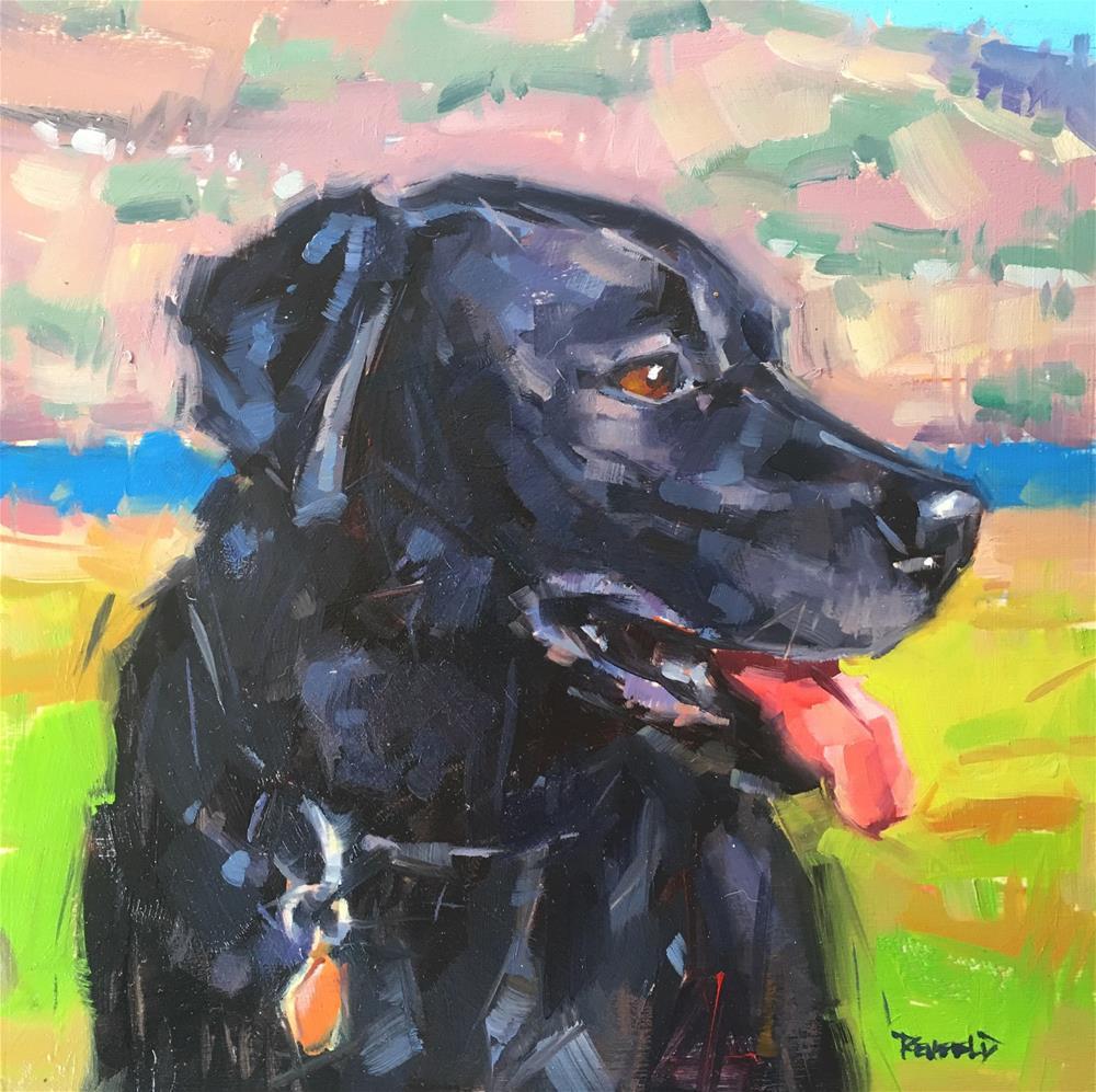 """""""Brier"""" original fine art by Cathleen Rehfeld"""