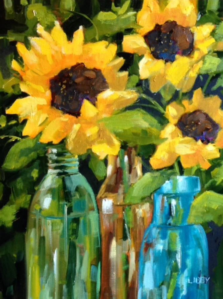 """""""Special Occasion"""" original fine art by Libby Anderson"""