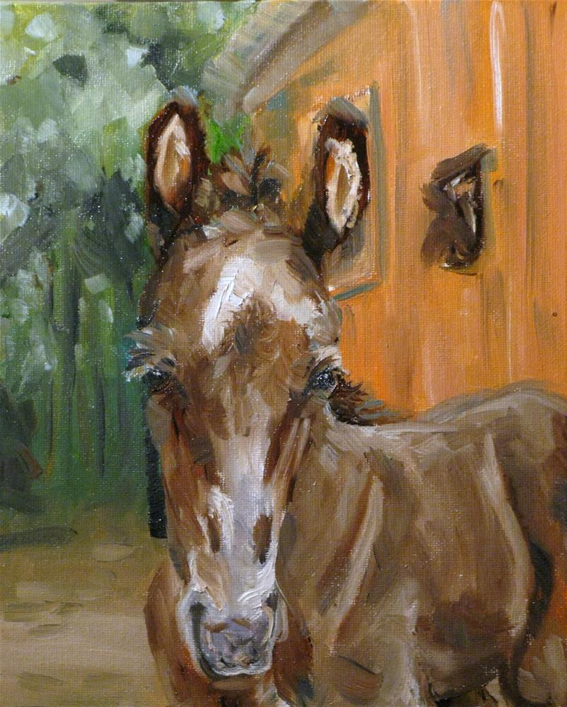 """Cupcake Annie"" original fine art by Susan Elizabeth Jones"