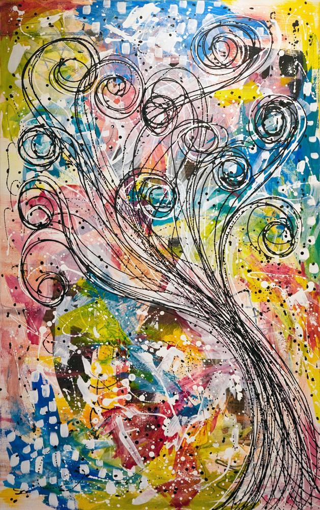 """Healing 2"" original fine art by Kali Parsons"