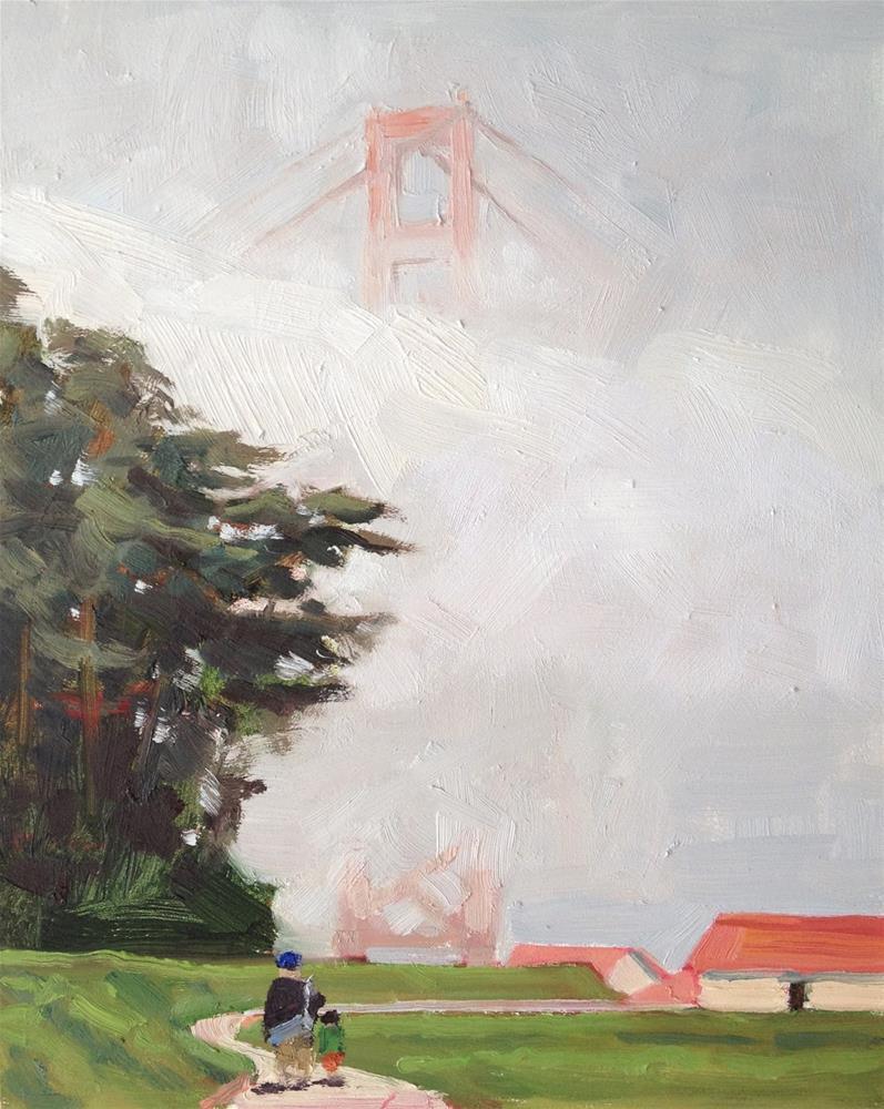 """Afternoon Fog"" original fine art by Deborah Newman"