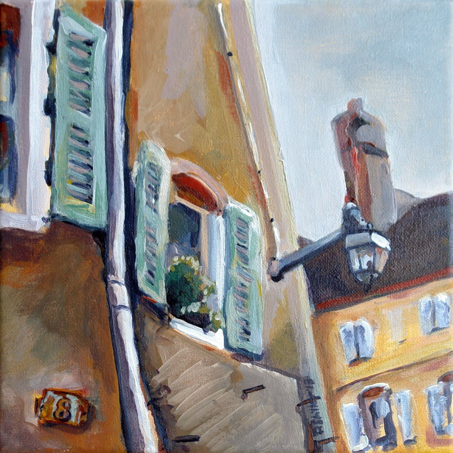 """0636 Beaune"" original fine art by Dietmar Stiller"