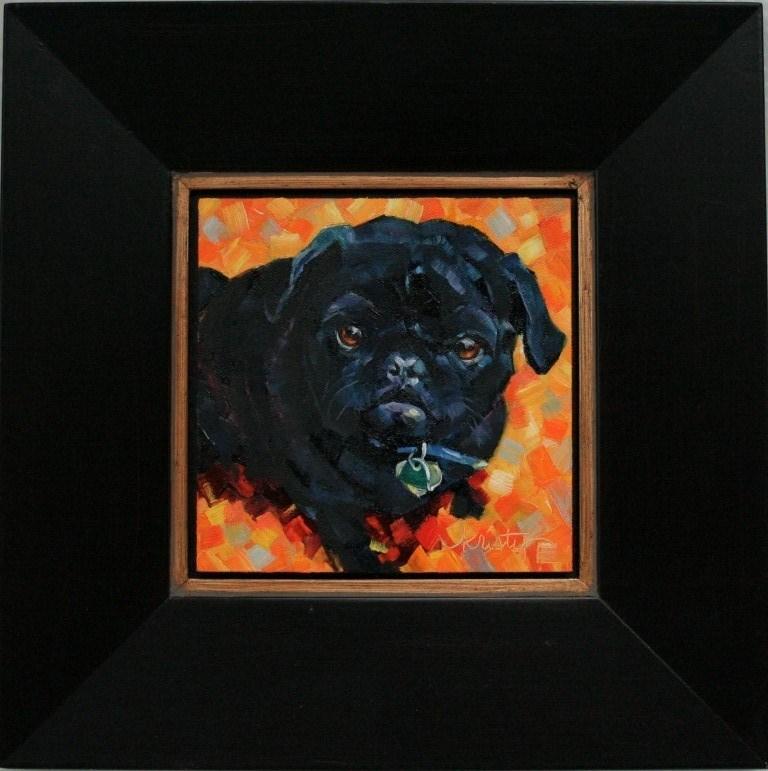 """""""KIA"""" original fine art by Kristy Tracy"""