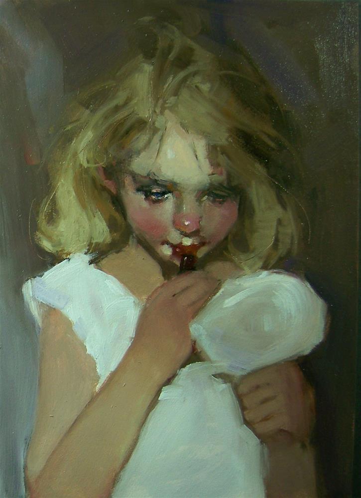 """Dolled Up"" original fine art by Kim Roberti"