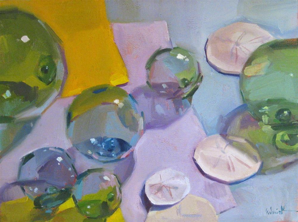 """Floating Colors"" original fine art by Sarah Sedwick"
