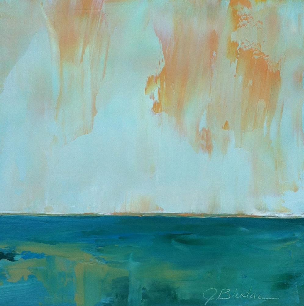 """Sunrise Light"" original fine art by Janet Bludau"