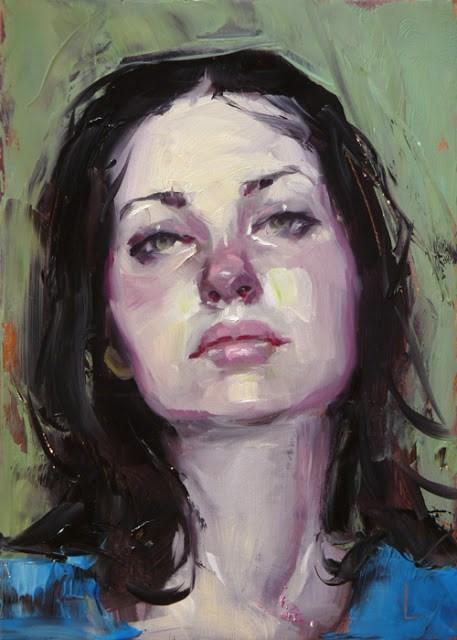 """""""Listless"""" original fine art by John Larriva"""