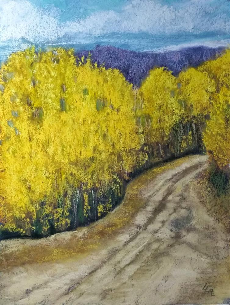 """""""A Road with No Name"""" original fine art by Anna Lisa Leal"""