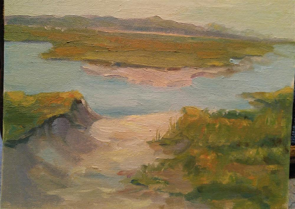 """""""The Bay Side"""" original fine art by angela scully"""
