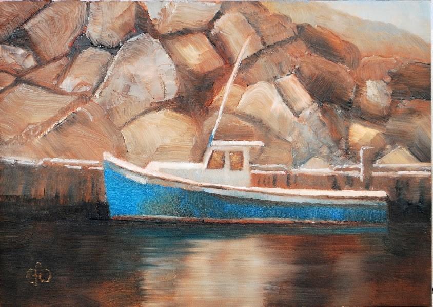 """Safe Harbour"" original fine art by Gary Westlake"
