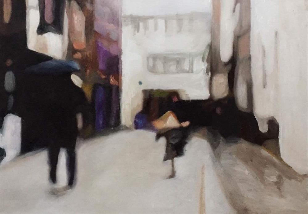 """On The Move"" original fine art by John Cameron"