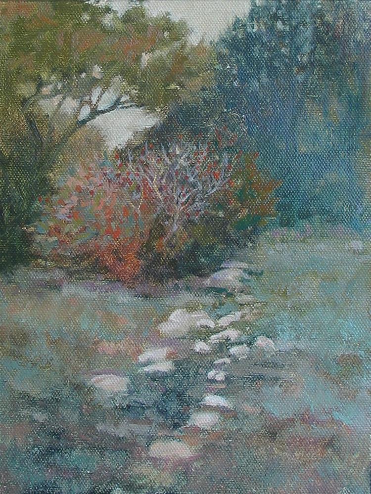 """Bright Yaupon"" original fine art by Robyn Jorde"
