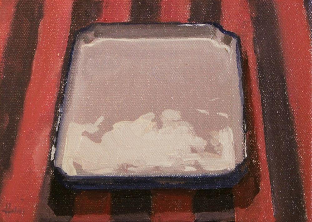 """The Empty Plate"" original fine art by Ski Holm"