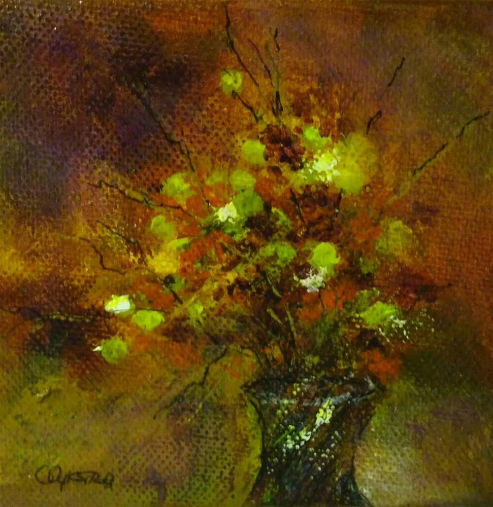 """Fall Bouquet #2"" original fine art by Cathy Dykstra"