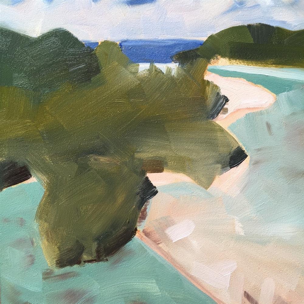 """""""130 Slice of Paradise"""" original fine art by Jenny Doh"""